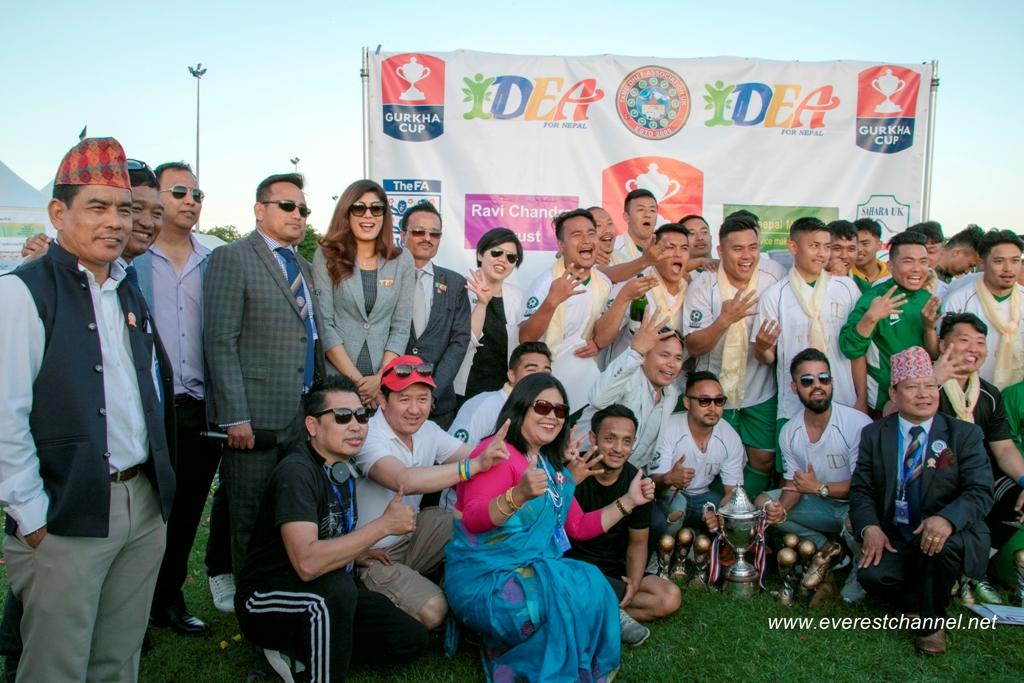 16th Gurkha Cup 2018