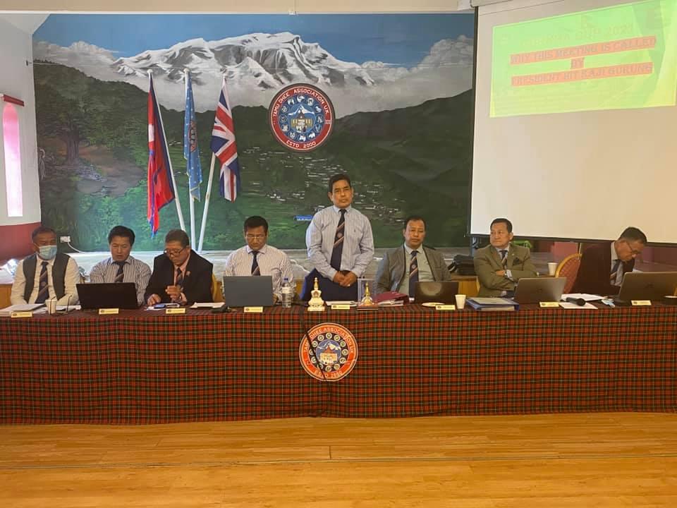 Gurkha Cup Post Meeting/ Nepali Mela Prepartion
